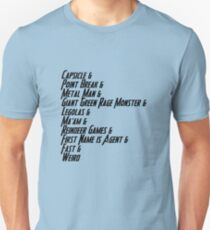 Nicknames 2.0 T-Shirt