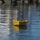 Yellow Dinghy by Alison Howson