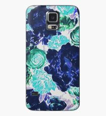 Bouquet in Blue - Floral Art - Flower Lovers Gift Case/Skin for Samsung Galaxy