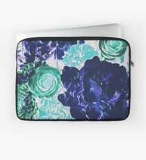 Bouquet in Blue - Floral Art - Flower Lovers Gift Laptop Sleeve
