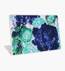 Bouquet in Blue - Floral Art - Flower Lovers Gift Laptop Skin