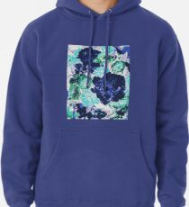 Bouquet in Blue - Floral Art - Flower Lovers Gift Pullover Hoodie