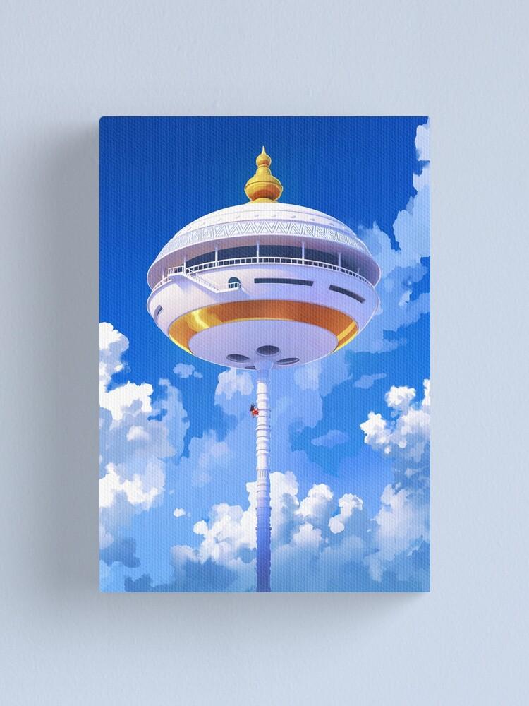 Alternate view of Korin Tower Canvas Print