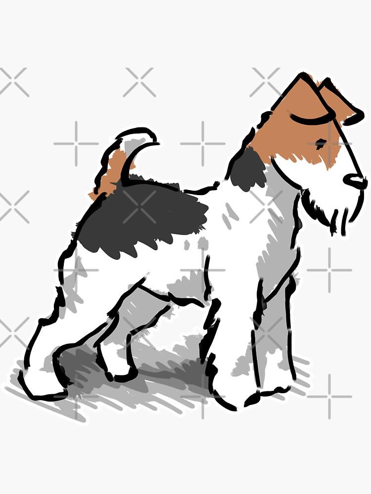 Fox Terrier by elspethrose