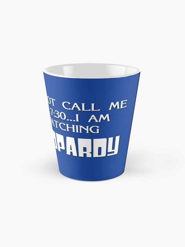 Alternate view of Jeopardy Mug