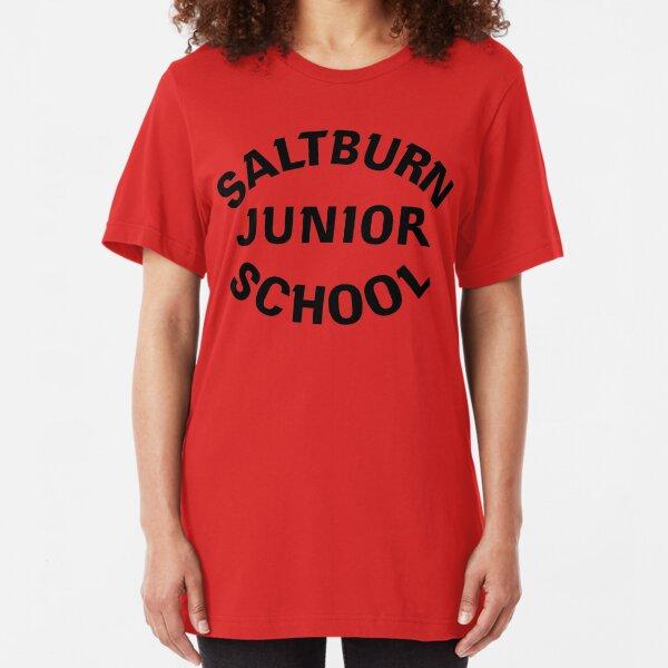NDVH Saltburn Junior School 1 Slim Fit T-Shirt