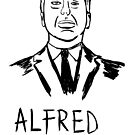 Alfred Hitchcock portrait by Logan81