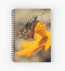 Skipper and September Flower Spiral Notebook