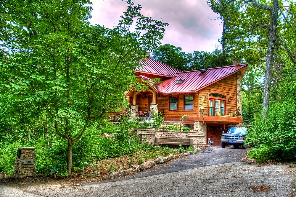 A House in the Woods by ECH52