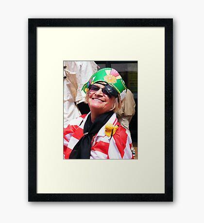 Pirate Lady Framed Print