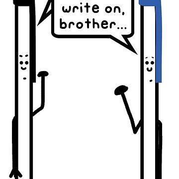 negro es hermoso. Escribe, hermano. de paintbydumbers