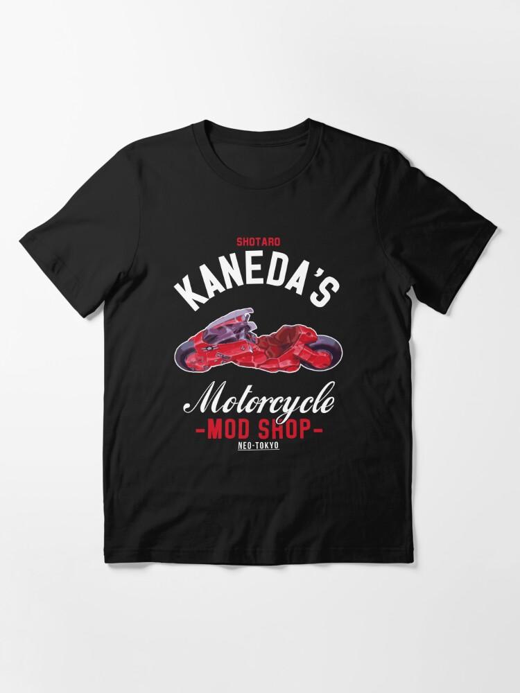 Cloud City 7 Academies Akira Shotaro Kanedas Motorcycle Shop Mens Contrast Training T-Shirt