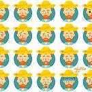 Van Gogh Emoticons by liajung