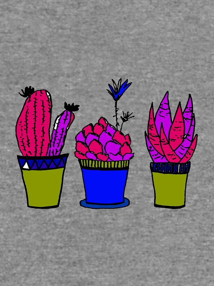 Kaktus Paradies von RanitasArt