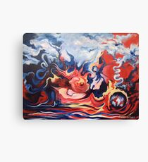 The Infuriation of Mother Earth Canvas Print