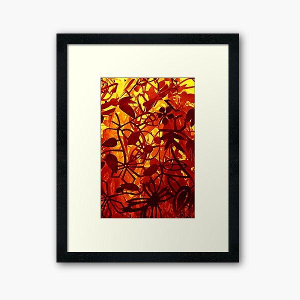 Paper Jungle Framed Art Print