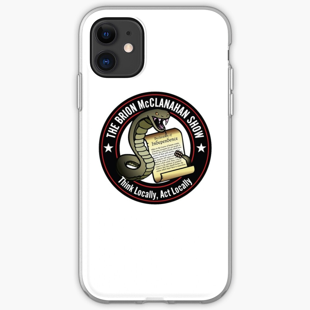 The Brion McClanahan Show iPhone Case & Cover