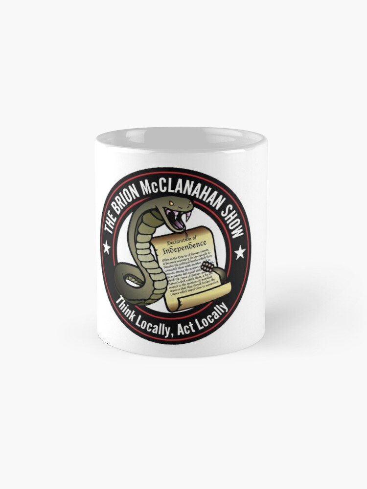 Alternate view of The Brion McClanahan Show Classic Mug