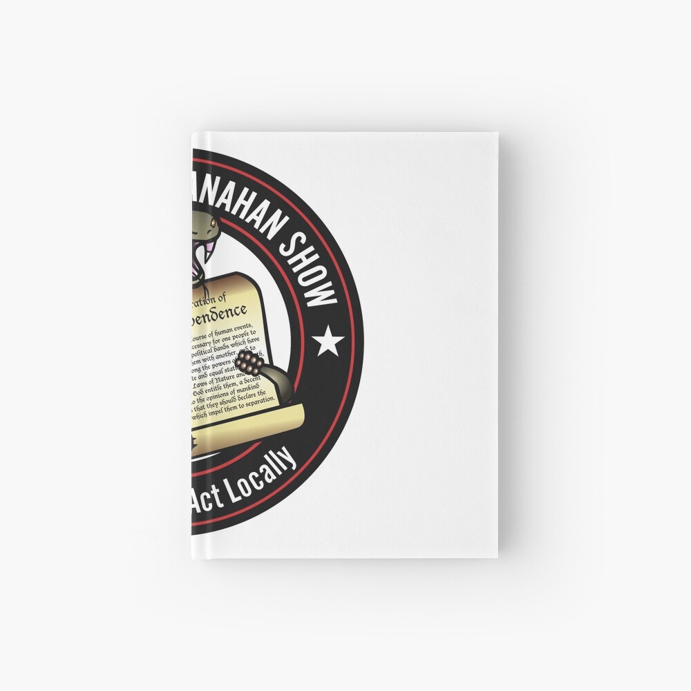 The Brion McClanahan Show Hardcover Journal