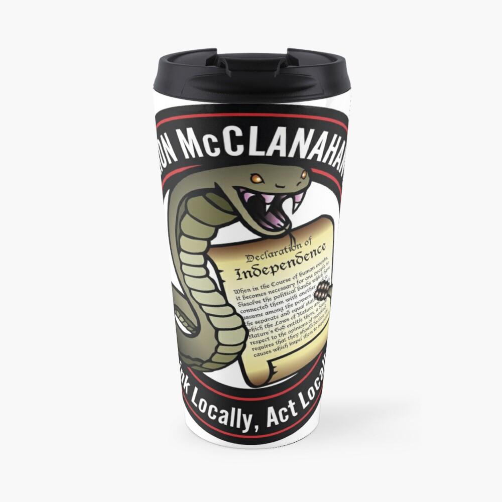 The Brion McClanahan Show Travel Mug