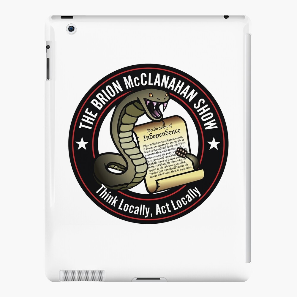 The Brion McClanahan Show iPad Case & Skin