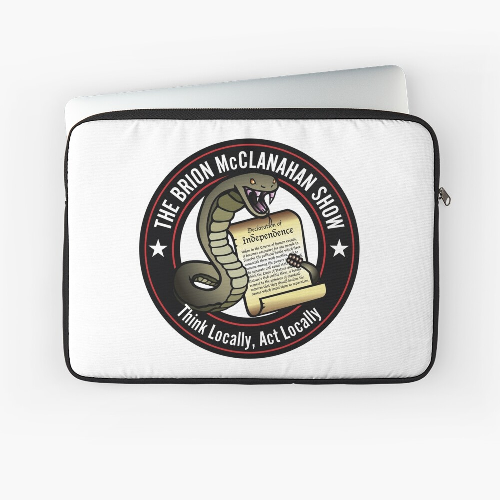 The Brion McClanahan Show Laptop Sleeve