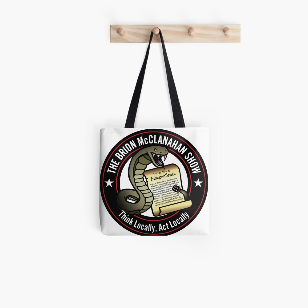 The Brion McClanahan Show Tote Bag
