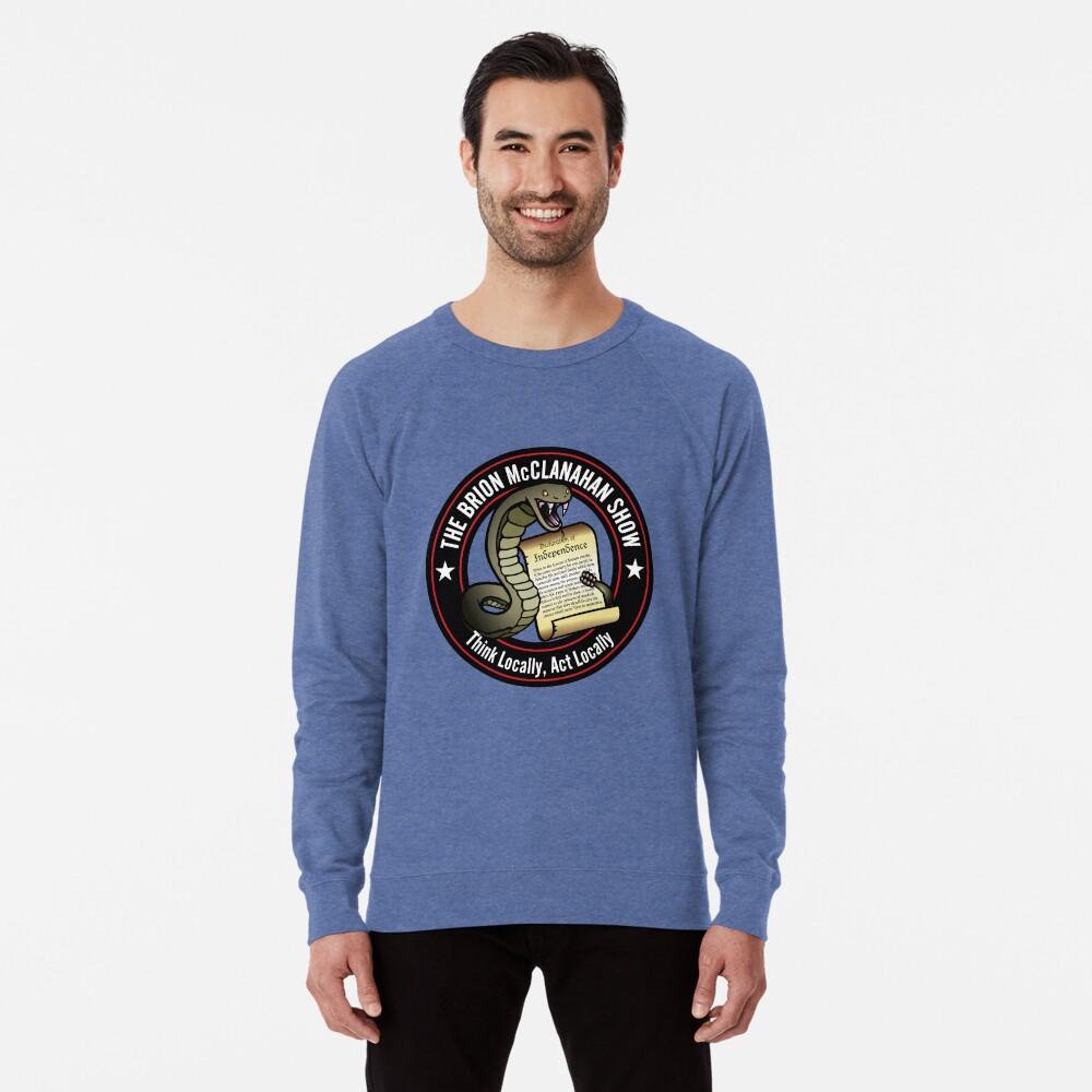The Brion McClanahan Show Lightweight Sweatshirt