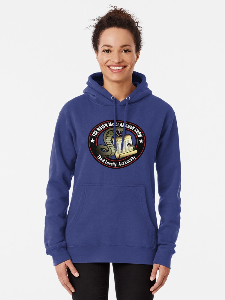 Alternate view of The Brion McClanahan Show Pullover Hoodie