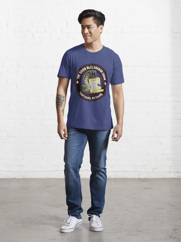 Alternate view of The Brion McClanahan Show Essential T-Shirt