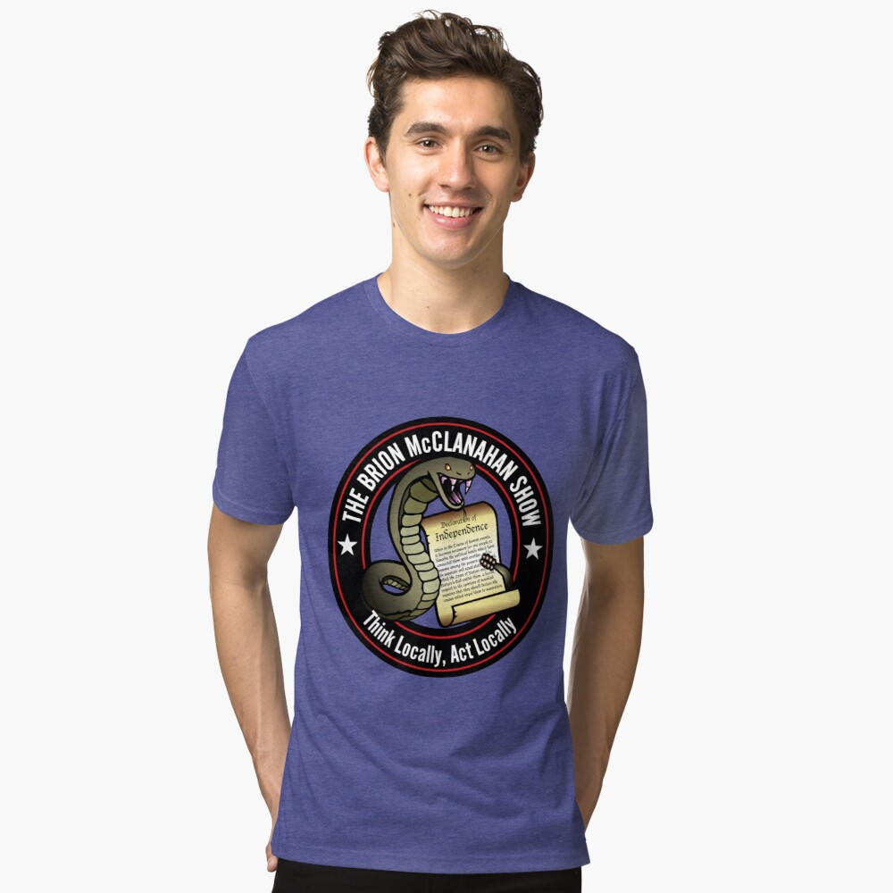 The Brion McClanahan Show Tri-blend T-Shirt