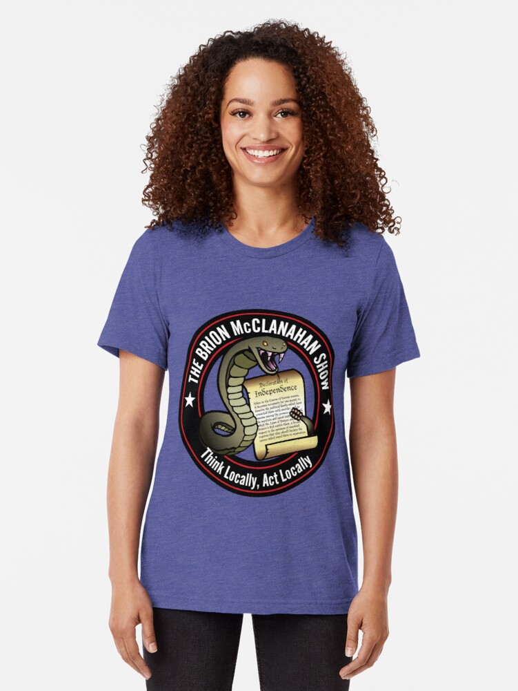 Alternate view of The Brion McClanahan Show Tri-blend T-Shirt