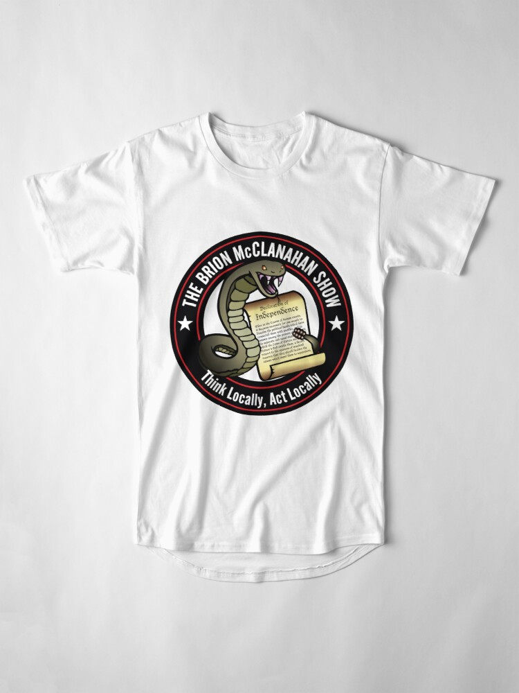 Alternate view of The Brion McClanahan Show Long T-Shirt