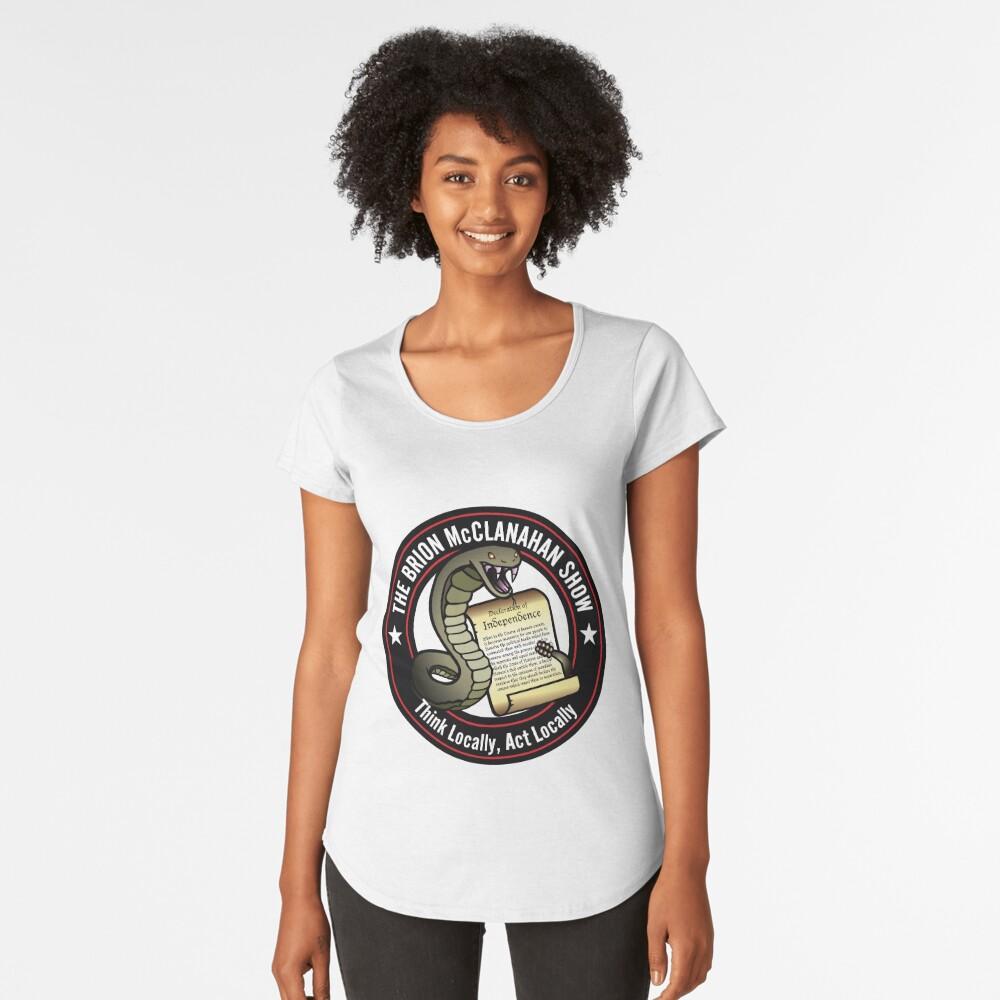 The Brion McClanahan Show Premium Scoop T-Shirt