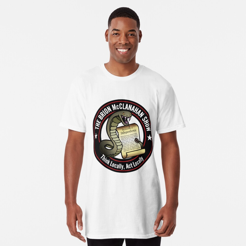 The Brion McClanahan Show Long T-Shirt