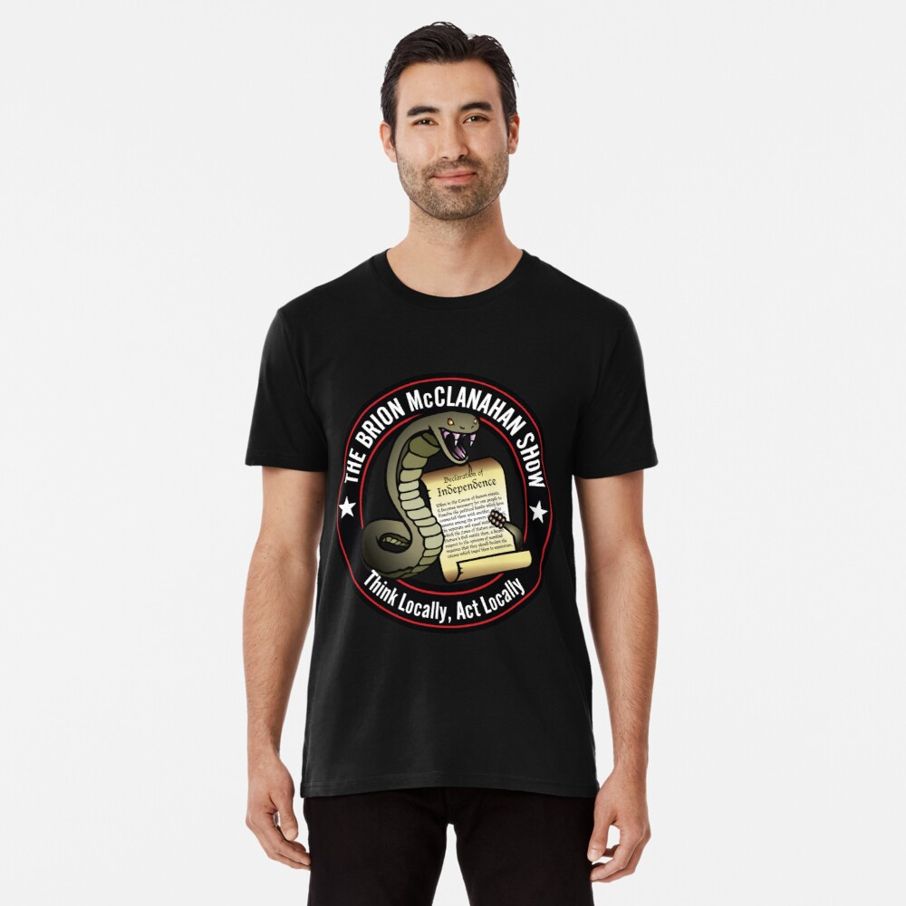 The Brion McClanahan Show Premium T-Shirt