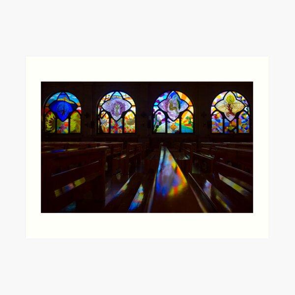 Reverent Light Art Print