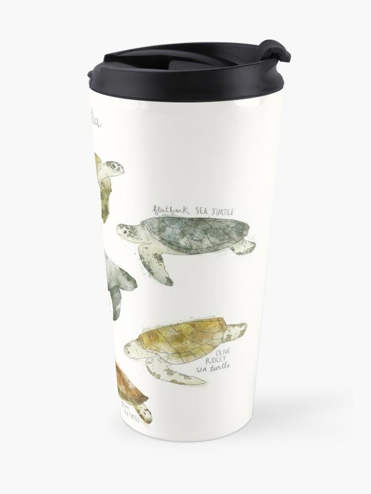 Alternate view of Sea Turtles Travel Mug