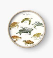 Sea Turtles Clock