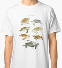 Meeresschildkröten Classic T-Shirt