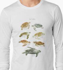 Tortues de mer T-shirt manches longues