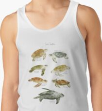 Camisetas de tirantes para hombre Tortugas de mar