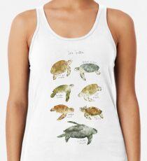Sea Turtles Racerback Tank Top