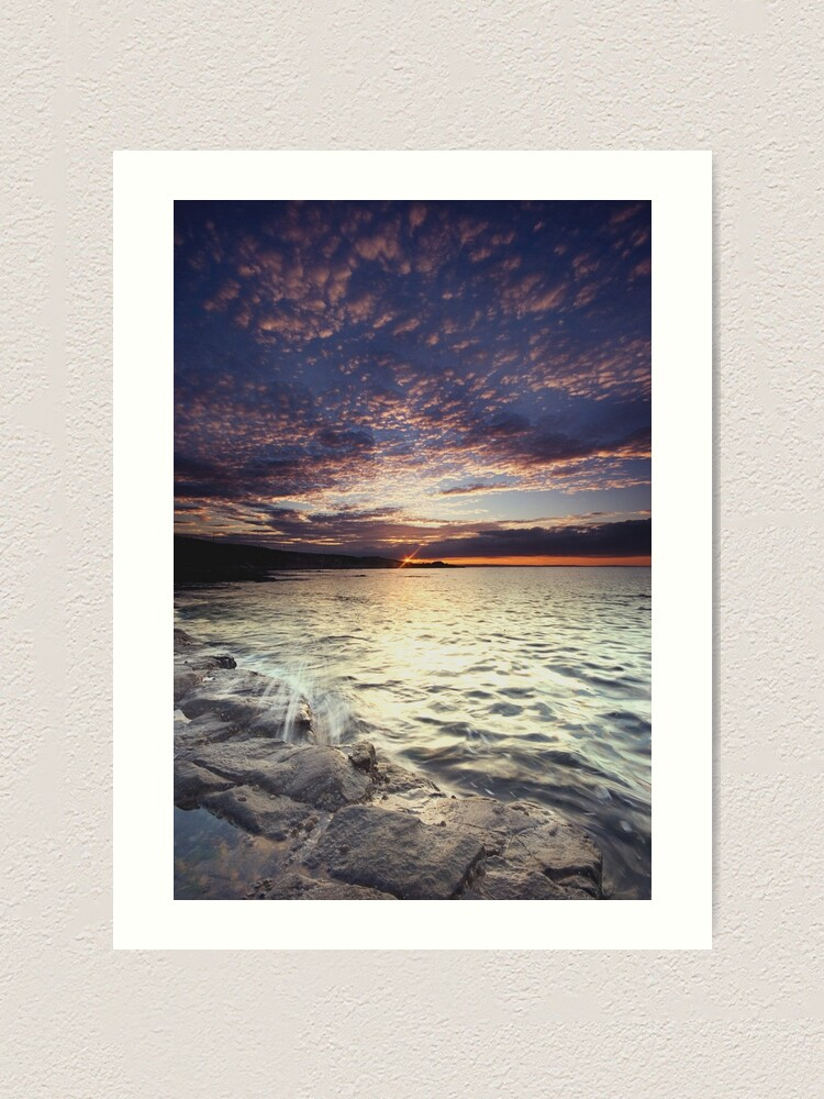 Alternate view of End of the day Art Print