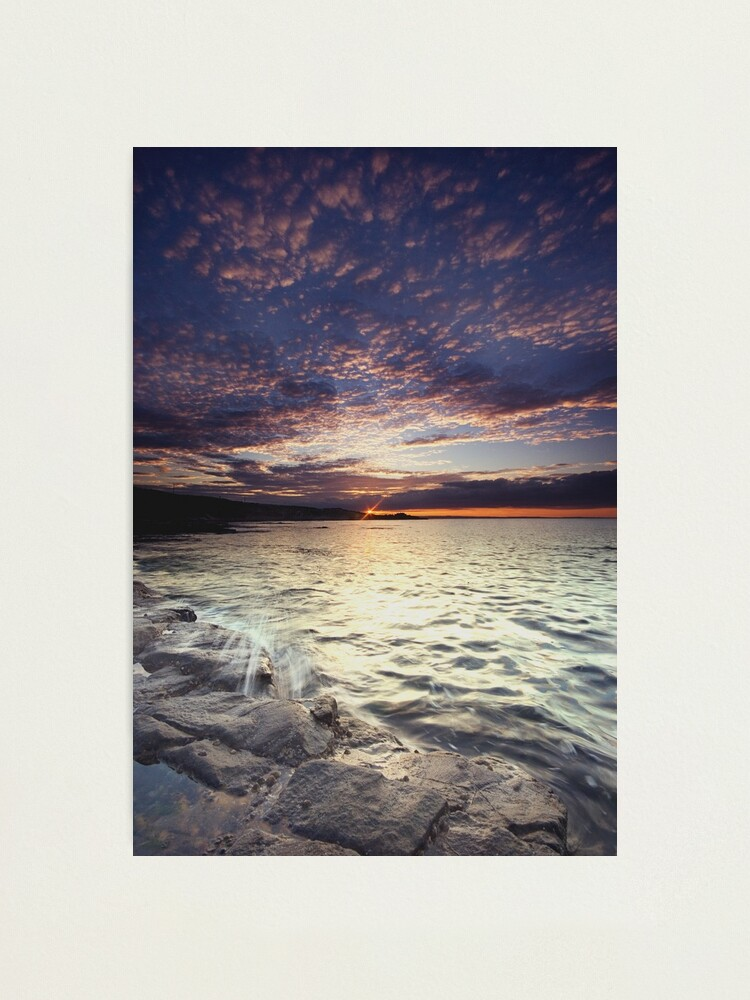 Alternate view of End of the day Photographic Print