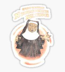 Nunchucking Nunchuck Sticker