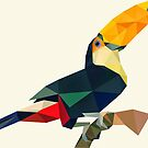 «Tucán geométrico» de purplesparrow
