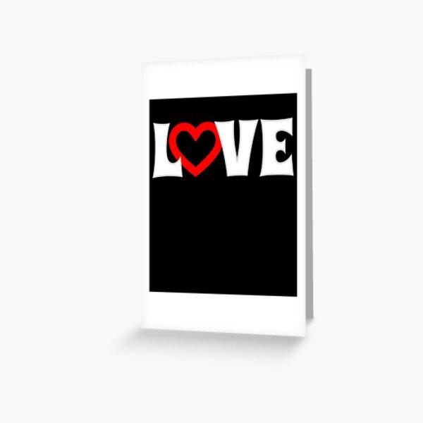 Usted realiza Loving Diversión Negro Corazón cita Canción Letra Impresa
