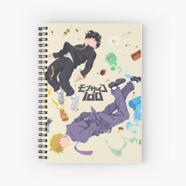Shigeo x Reigen Spiral Notebook
