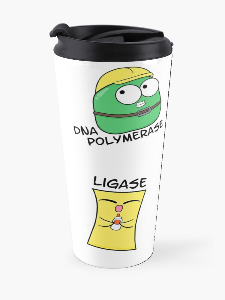Alternate view of DNA Replication Players Travel Mug